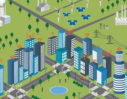 Smart City (Foto: ©Thinkstock - monicaodo)